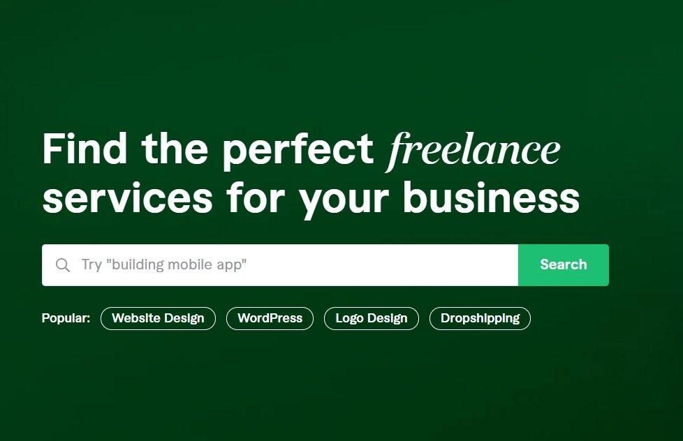 Fiverr freelance platform