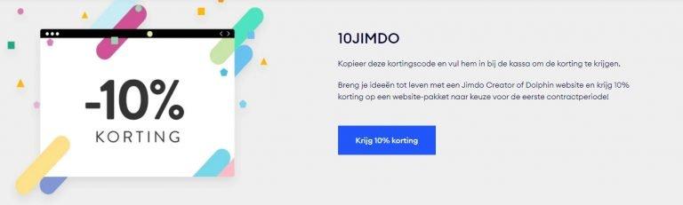 Jimdo Kortingscode