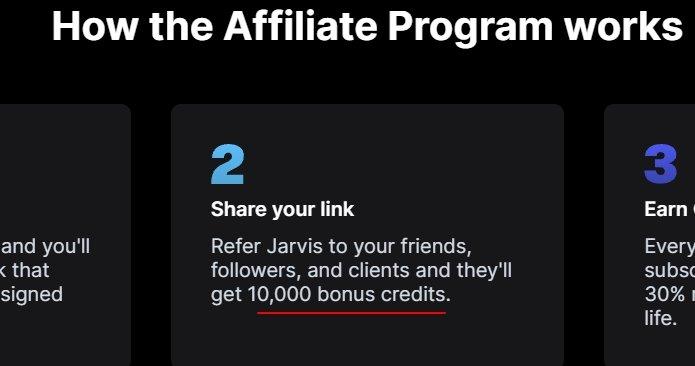 Jarvis sign up bonus