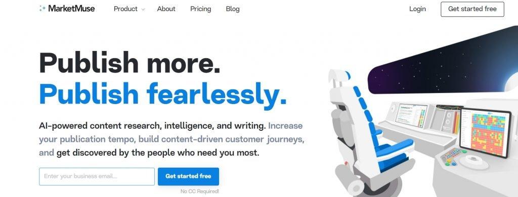 MarketMuse AI SEO tool